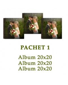 Pachet 1 Wedding Memories (3 albume foto)