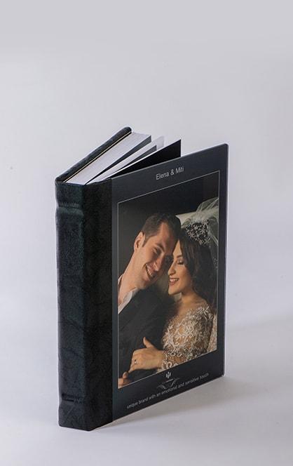Album foto personalizat exceptional de frumos si elegant